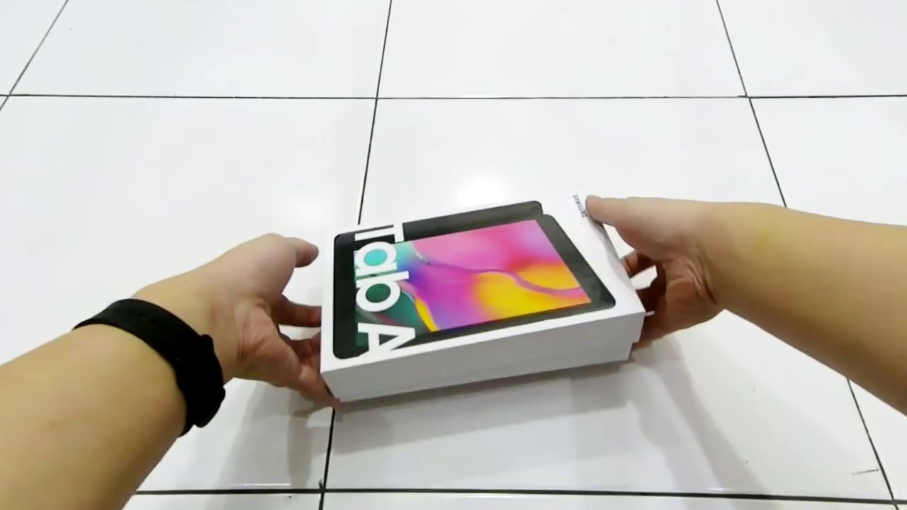 Unboxing Samsung Galaxy Tab A 8 0 2019 Sm T295 Lte Youtube