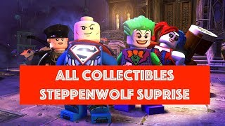 Lego DC Super Villains Steppenwolf Suprise Free Play 100% all Minikits and Collectibles