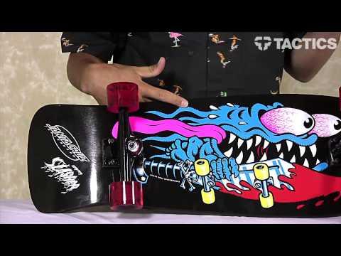 Santa Cruz Slasher Black & Blue Reissue Cruzer 10.1 Complete Review - Tactics.com
