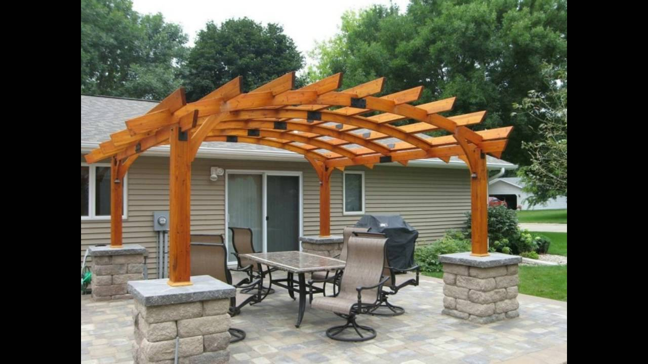 Decoracion de jardines con pergolas youtube for Pergola jardin