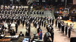 The Houston Marching Band (germantown, Tn) - October 5, 2013 Awesome Indoor Performance