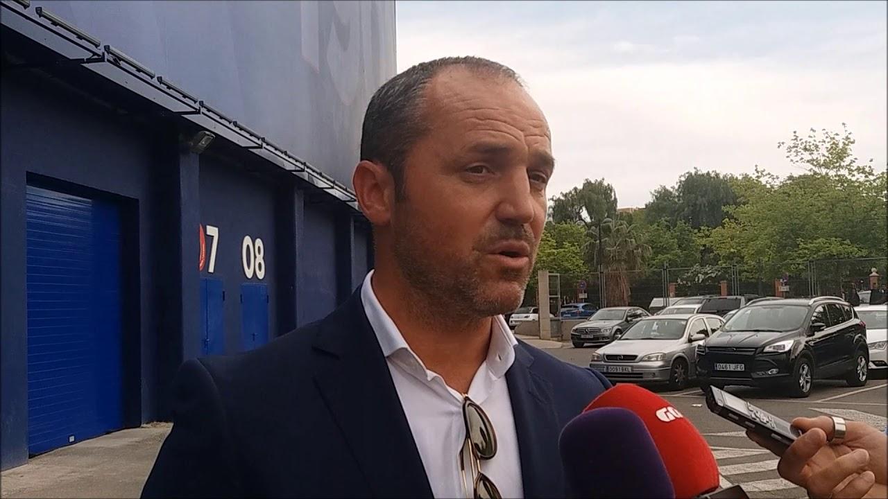 Luis Helguera en el Ciutat de València.