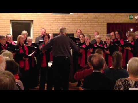 Julekoncert i Havdrup Sognehus med Aspirata Vocalis