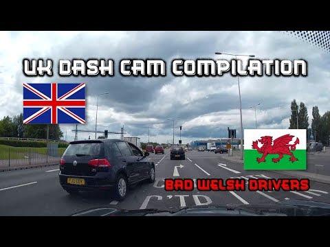 UK Dash Cam Compilation - Bad Welsh Drivers