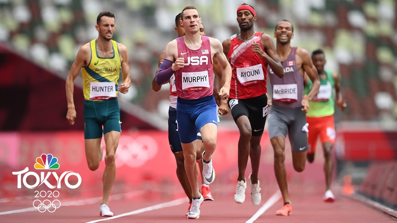 Download USA's Clayton Murphy closes strong for 800m heat victory | Tokyo Olympics | NBC Sports