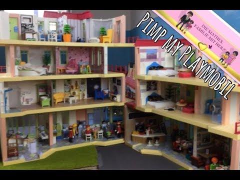 Playmobil die neue Wohnung von Familie Fischer - Pimp my Playmobil