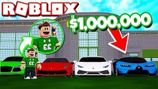 HOW TO GET RICO IN ROBLOX SELLING $1,000,000 CARS Rovi23 Roblox
