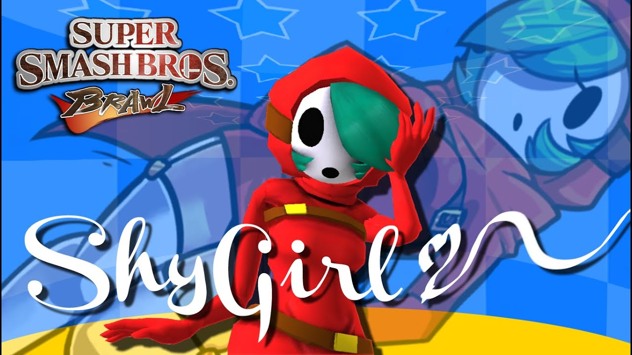 Super Mario Shy Girl