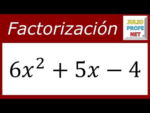 ECUACIONES CUADRÁTICAS POR FACTORIZACIÓN - Ejercicio 1 - ft. Casio Classwiz from YouTube · Duration:  7 minutes 46 seconds