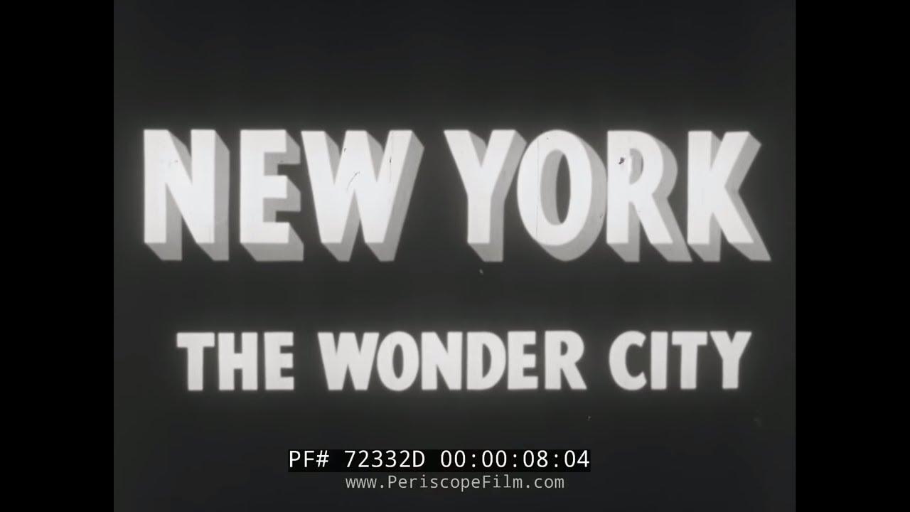 1939 NEW YORK CITY NEWSREEL