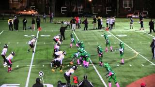Lamond Riggs vs Peppermill Jr midgets 10-04-14 Homecoming