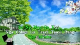 BHUTANESE KARAOKE SONG : Taayi Taayi Rang(Kinzang Gyeltsehn Nad Minzung Lhamo)