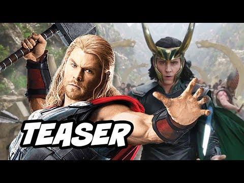 Thor Ragnarok Tom Hiddleston Loki Teaser Breakdown