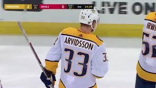 Mattias Ekholm Goal vs NJD 01-25-18