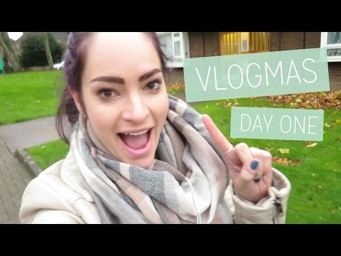 Vlogmas Day 1 - Launching a podcast   CharliMarieTV
