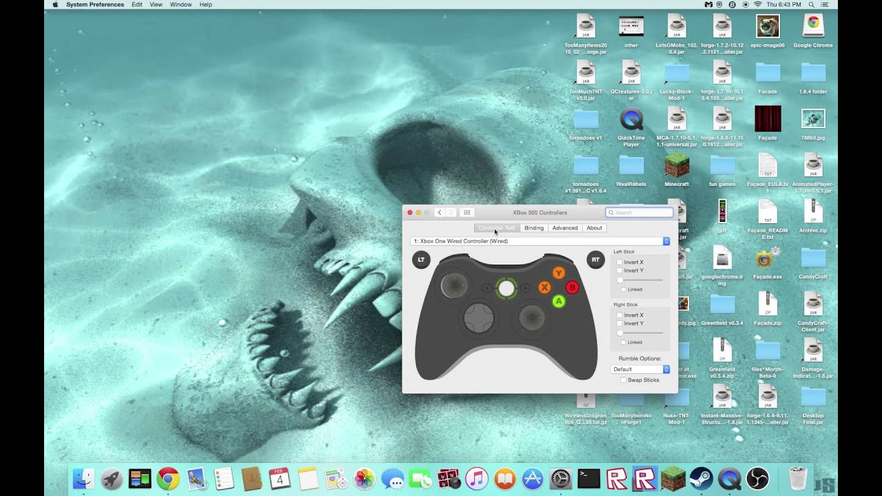 How to connect xbox one controller to mac (Any) - YouTube