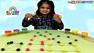 Learn Colors and Shapes for Kids, Children, Toddlers Educational Video | Play Doh Learning Activity