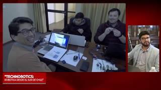 3°Sesión Mesa Robotica impacto en educación: expone Technobotics