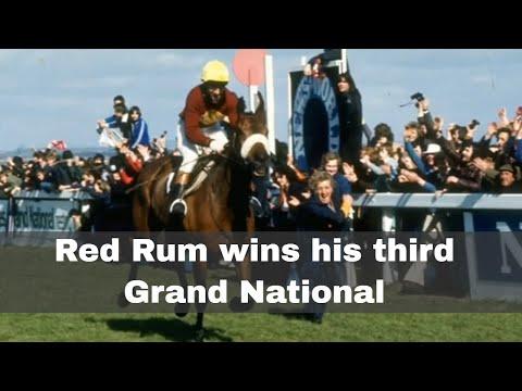 2nd April 1977: Red Rum Wins An Unprecedented Third Grand National Horse Race