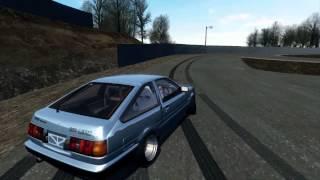 SLRR - Toyota Corolla AE86 drifting