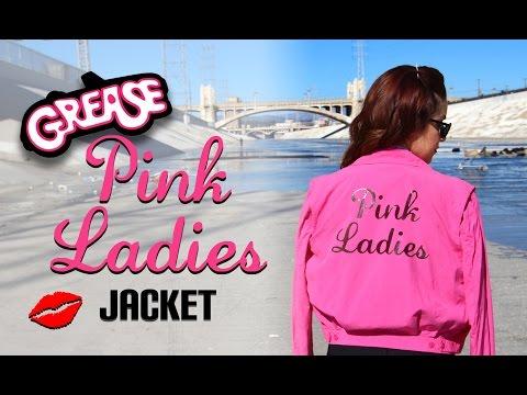 DIY Grease Pink Ladies Jacket    Lucykiins