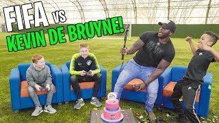 Tekkerz Kid plays FIFA 19 vs Kevin De Bruyne!