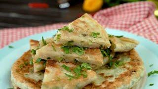 Китайские лепешки с зеленым луком - Рецепты от Со Вкусом