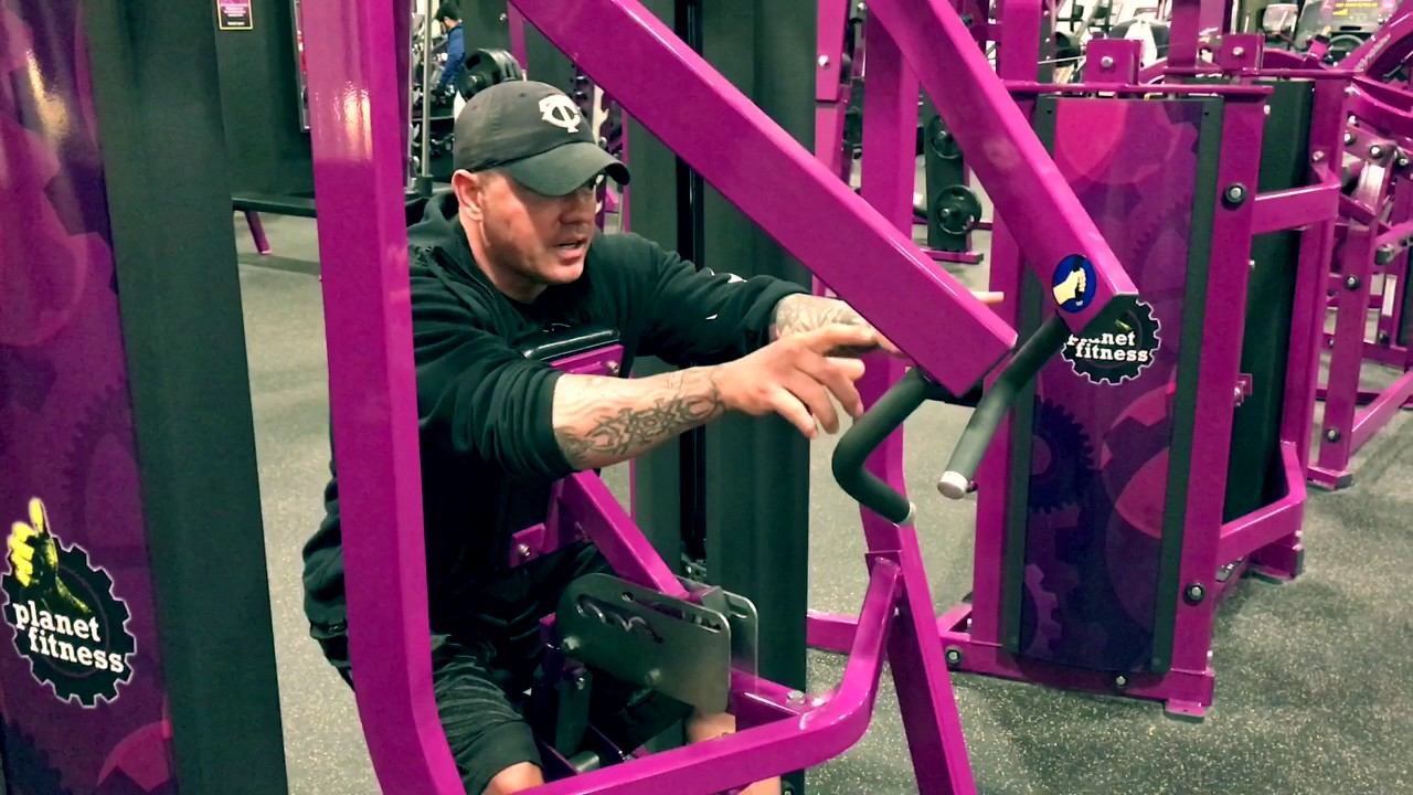 Planet Fitness - How To Use Hammer Strength Row Machine