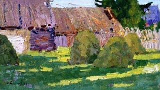 Summer Motives in Painting (1950-1990s). Leningrad School. Part 1