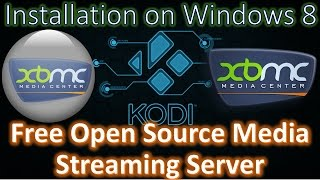How to Install XBMC Kodi 16.1 Jarvis Media Center Open Source on Windows 8 Machine