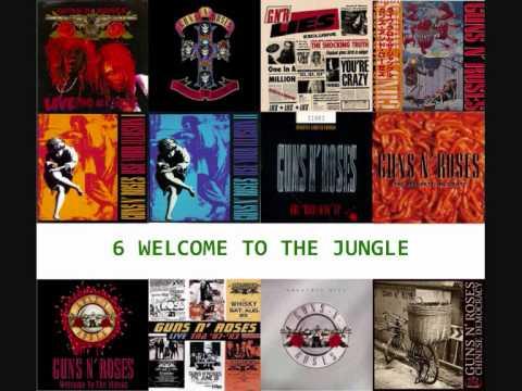 Top 15 Songs - Guns N' Roses