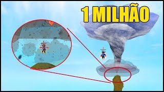 I GOT INTO THE HURRICANE!! 1 MILLION POWER IN SUPER POWER TRAINING SIMULATOR!! ROBLOX
