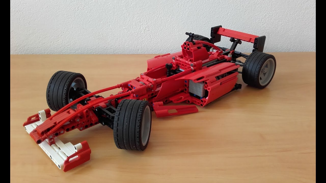 Lego Technic Rasers Ferrari F1 8386 Review Youtube