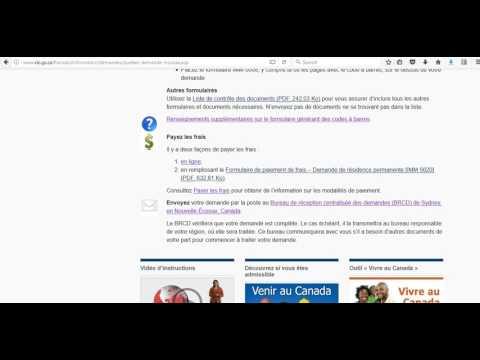 Comment remplir les formulaires du dossier fédérale Québec