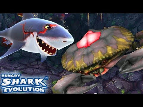 GREAT WHITE SHARK KILL GIANT CRAB BOSS