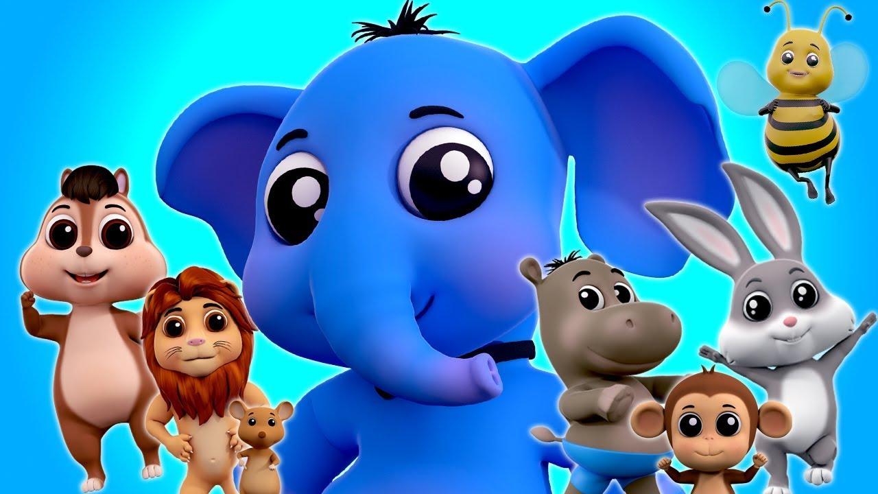สัตว์เสียงเพลง | เพลงสำหรับเด็ก | วิดีโอ 3 มิติ | Nursery Rhymes | Learn Sound | Animals Sounds Song