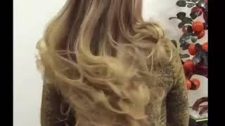 видео Фитоламинирование волос