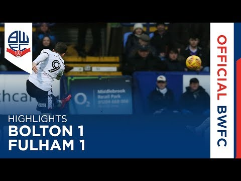 HIGHLIGHTS | Bolton 1-1 Fulham