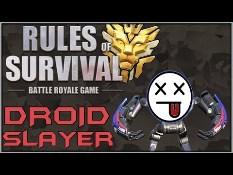 🔴LIVE // #1 DROID SLAYER IN TOWN // Rules of Survival