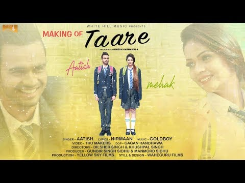 Making of Taare | Aatish | White Hill Music