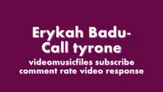 Erykah Badu-Call tyrone