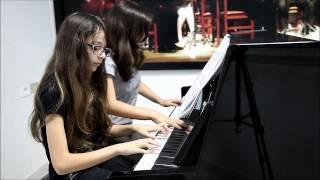 piano à 4 mains Conservatoire Pilote de Musique de Kelibia