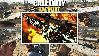 COD WW2 ALL DIAMOND CAMO WEAPONS & SECRET CAMO? - World