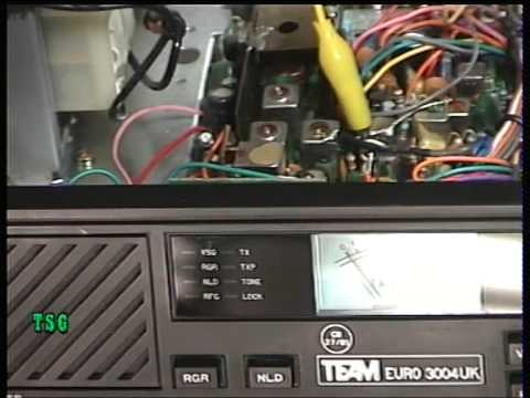 Team Euro 3004UK,  UK (CB 27/81) CB radio (Base Station) - Transmit alignment.