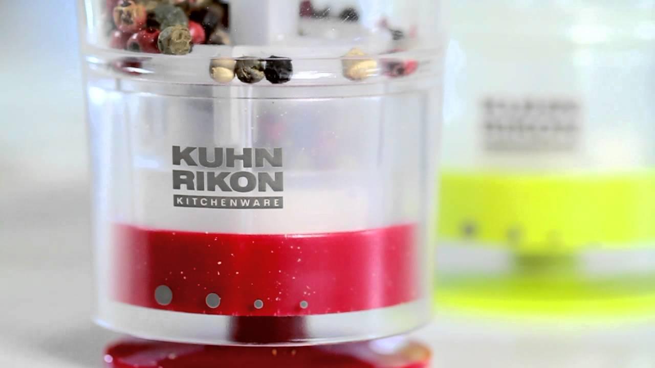 Kuhn Rikon Gewürzmühlen (deutsch) - YouTube | {Gewürzmühlen 40}