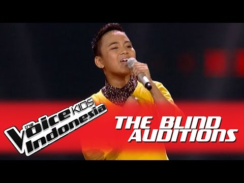 """Florentino """"You'll Be In My Heart"""" I The Blind Auditions I The Voice Kids Indonesia GlobalTV 2016"""