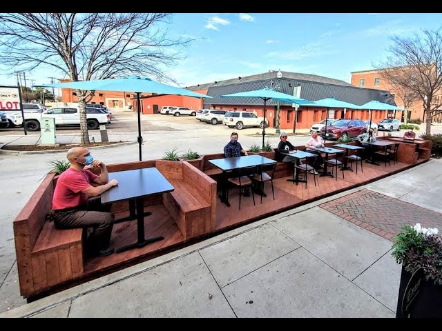 Creating Parklets in McKinney