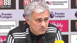 Bournemouth 0-2 manchester united - jose mourinho full post match press conference - premier league