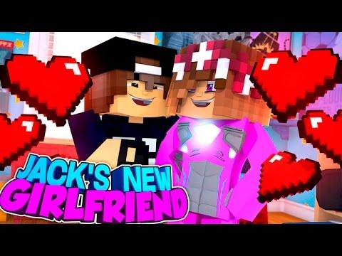 Minecraft Adventure - JACK'S NEW GIRLFRIEND IS THE PINK POWER RANGER!!