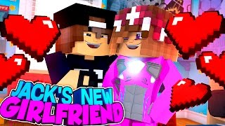 Minecraft Adventure - JACK'S NEW GIRLFRIEND IS THE PINK POWER RANGER!!